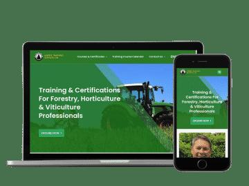 harris training website example